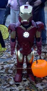 Iron Man Halloween Costume Coolest Homemade Iron Man Costumes