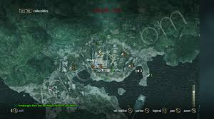 Secret Map Assassin U0027s Creed Iv Black Flag Misteriosa Collectibles Locations