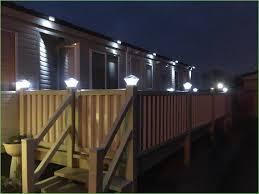 Solar Deck Lights Lowes - lighting solar post cap lights 4x4 white solar light post caps
