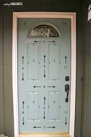 the correct order of how to paint a door simple easy diy tutorial with awesome