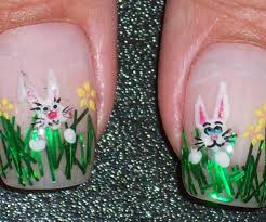 peachy easter sunday along with easter nail designs nails looks to