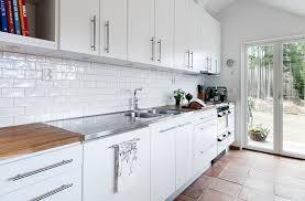 Swedish Kitchen Design Scandinavian Kitchen Ideas With Chic Marble Backsplash And Grey