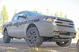 Ford Ranger Design 2019 Ford Ranger Fx4 Spied Inside And Out Off Road Com Blog