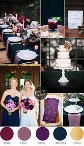 blue and purple wedding midnight blue and purple wedding