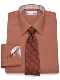 non iron cotton pinpoint oxford dress shirt paul fredrick