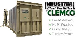 Used Blast Cabinet Abrasive Blasting Equipment And Accessories Clemco Industries Corp