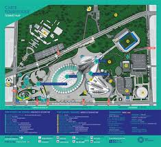 Map Of Montreal Montreal 1976 Olympic Park Map 1976 U0026 2016 U2013 Architecture Of The