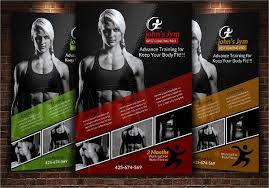 fitness flyer template flyers templates franklinfire co
