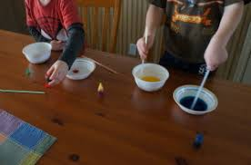 making colors with food coloring craft cache valley family magazine