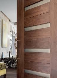 Wood Door Design by Exterior Design Trustile Doors Plans With Wood And Glass For Home