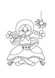 printable coloring pages for nursery rhymes coloring pages ideas