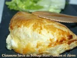 cuisine rapide pour le soir chaussons farcis au fromage blanc jambon et chèvre dans vos