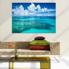 genddi home decor landscape antigua beach caribbean picture modern