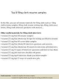 Clerk Job Description Resume by Legal File Clerk Jobs