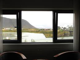 iceland day 7 here there everywhere this that everything another night at hotel selfoss and dinner at kaffi krus did not have the time or energy to check around this place but the view from the bedroom window is