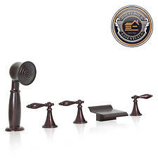 Bathtub Faucets With Sprayer Tub Faucet With Hand Shower Ebay