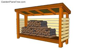 Diy Wood Storage Shed Plans by Firewood Shed Outdoor Shed Plans Free Pinterest Firewood