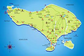 bali indonesia map bali tourism board about bali bali map