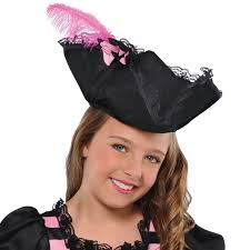 girls halloween pirate costume pink pirate hat girls fancy dress halloween book buccaneer kids