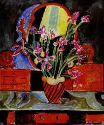 vase of irises 1912 henri matisse wikiart org