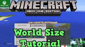 sizes options minecraft xbox one ps4 world size options sizes