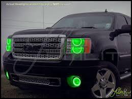 Automotive Led Lights Bulbs by Oracle 07 13 Gmc Sierra Rd Led Halo Rings Head Fog Lights Bulbs