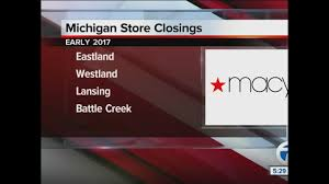 Genesee Valley Mall Map Macy U0027s Closing 68 Stores Including Four In Michigan Wxyz Com
