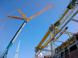 telescopic crane for construction lifting for heavy duty