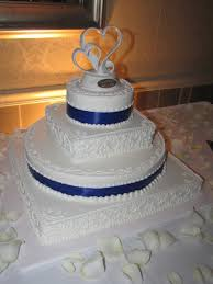 wedding cake royal blue royal blue wedding cake cakecentral