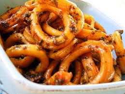 cuisiner le calamar calamars sautés à l ail et au persil la cuisine de