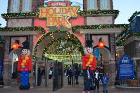 Six Flags In Winter Check Out Holiday In The Park This Winter At Six Flags