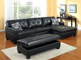 Black Microfiber Sectional Sofa Sectional Sectional Couch For Sale Costco Vg Rz Modern Black