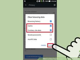 clear history android 7 ways to clear your browser s cache on an android