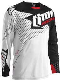 thor motocross gear thor core hux jersey revzilla