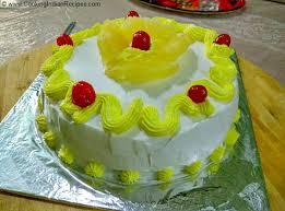 how to make pineapple cake at home eggless pineapple cake