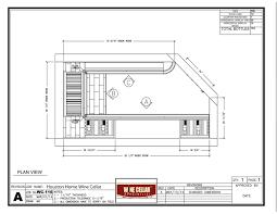 wine cellar floor plans houston wine cellar design 3d drawing elevations custom wine