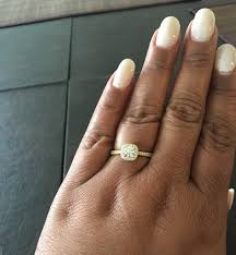 engagement rings size 8 show me your 54 carat rings on size 8 fingers weddingbee
