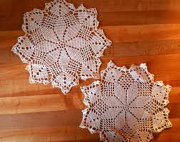 Shabby Chic Placemats by Shabby Chic Accents Etsy