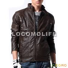 brown leather motorcycle jacket men faux leather motorcycle biker jacket dark brown xl