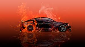 red orange cars dodge charger rt muscle side super fire car 2015 wallpapers el