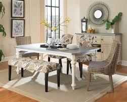 antique white dining room matisse 6 dining set in antique white two tone finish by