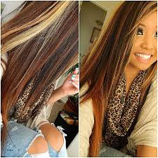frosted hair color appealing hair color trends highlights dark brown with image for