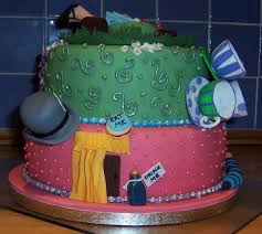 alice in wonderland cake design walyou