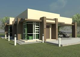 modern one house plans one exterior house plans