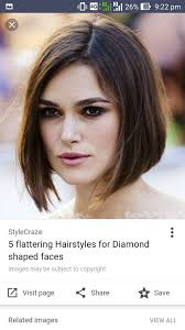 flattering the hairstyles for with chins sleek chin length bob short hairstyles pinterest chin length