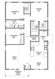 home design 3 bedroom bungalow house floor plans designs single