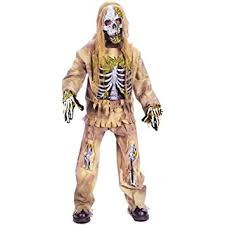 Super Scary Halloween Costumes Boys Amazon Scary Skeleton Zombie Kids Costume Toys U0026 Games