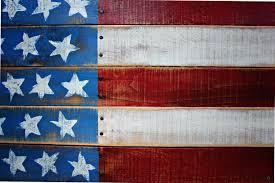 Reclaimed Wood Flag New Flatline Series U2013 Reclaimed Pallet Wood American Flag