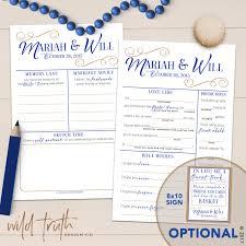 halloween mad libs wedding mad lib guest book alternative custom u2013 wild truth design co