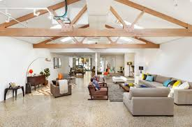 garage morphs into interior row home view gallery garage morphs social zone industrial row home